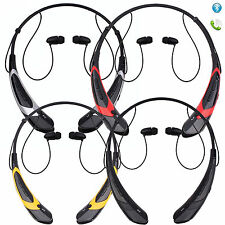 Neckband Wireless Bluetooth 4.0 Music Stereo Headset Headphone with Vibration