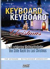 Keyboard Noten : Keyboard Keyboard Christmas leiMittel - WEIHNACHTEN - B-WARE