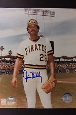 Jim Bibby (d.2010) Pittsburgh Pirates Autographed Signed 8x10 MLB Photo 16L