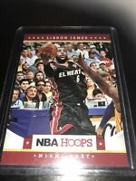 Panini NBA Hoops Lebron James El Heat Base 2012