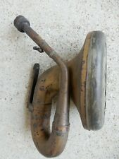 Vintage Automobile Car Horn with Attached Mounting Bracket