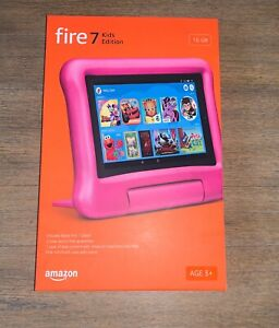 Amazon Fire 7 Kids Edition 16GB Tablet 9th Generation Pink Factory Sealed NEW
