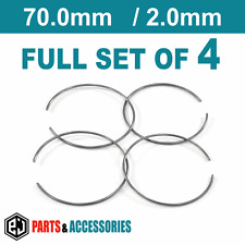 Set of 4 Spring Retaining Rings Metal Spring Clip for 70 mm BBS rings 09.23.409