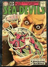 Sea Devils #2  Dec 1961