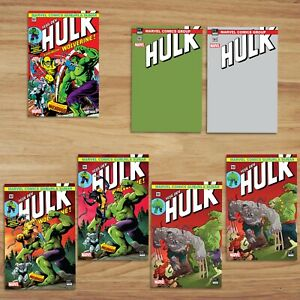 Incredible Hulk #181 International Turkish Edition Reprint (Set of 7)