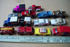 Lot of 14 vintage random loose diecast Matchbox cars & trucks