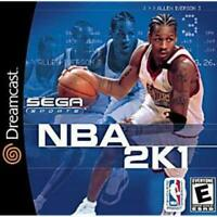 NBA 2K1 Sega Dreamcast Game Used