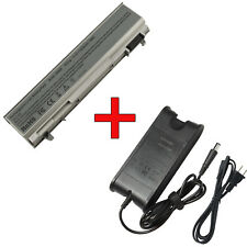 Battery/Battery+Charger For DELL Latitude E6400 E6500 E6410 E6510 FU571 MN632