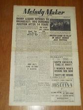 MELODY MAKER 1948 #754 JAN 17 JAZZ SWING HARRY LEADER HENRY HALL TED HEATH RABIN