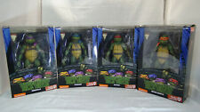 NECA GAMESTOP EXCLUSIVE TEENAGE MUTANT NINJA TURTLES OPENED SET