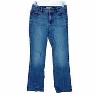 Chico's Platinum Women's Jeans Size 00 Regular Straight Leg Medium Wash