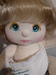 💕 My Child Doll 💕 US Girl 💕 Ash Blonde Hair, Aqua Eyes, Peach/Pink, Pampers