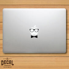 Hipster Glasses with a Bow Macbook Sticker / Macbook Decal / Cover / Skin