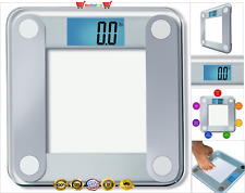 EatSmart Precision Digital Bathroom Scale w/ Extra Large Backlit 3.5 Lcd Display