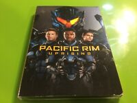 PACIFIC RIM UPRISING (DVD 2018) New SEALED Free S/H !! WITH SLIPCOVER