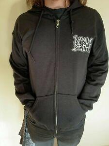 Napalm Death 'Scum Vintage' Zip Hoodie - NEW