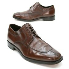 Cole Haan Men's 11 M Brown Leather Lace-up Apron Split Toe Dress Oxfords