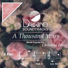 A Thousand Years - Christina Perri - Accompaniment CD New