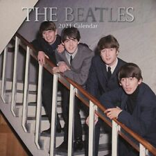 2021 Wall Calendar  The Beatles Famous 60s 70s Band Icon, with 180 Stickers