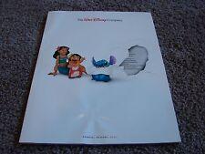 The Walt Disney Company Annual Report, 2001