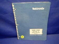 TEKTRONIX 2445/2465 OPTION 10 GPIB OPTION SERVICE MANUAL