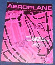 AEROPLANE MARCH 27 1968 - IFATE IN ASTERDAM
