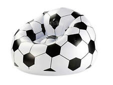 Fußball Sessel bis 100kg Fussball aufblasbar 70x94x94 cm