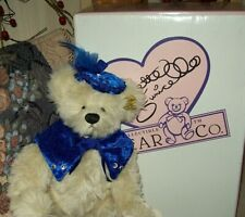 """High Tea Collection Eleanor New $54.99 Artist Christy Firmage Funicello 14"""" Bear"""