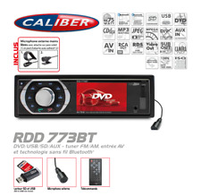 Autoradio Bluetooth Caliber RDD773BT DVD / Video / MP3 / Tuner