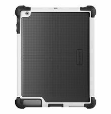 Apple iPad 2, iPad 3, iPad 4th GEN Black/White Ballistic Tough Jacket Case