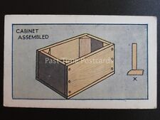 No.35 CABINET ASSEMBLED How to Make a Valve Amplifier by Godfrey Phillips 1924