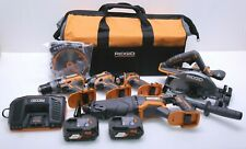 RIDGID R9652 GEN5X 18-Volt Lithium-Ion Cordless Combo Kit (5-Piece) - New