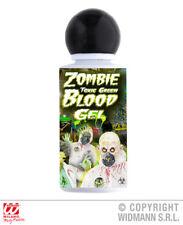 Zombie Toxic Green Blood Gel Halloween Fancy Dress Costume Make Up Accessory