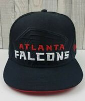 Atlanta Falcons New Era Fits Spellout Snapback NFL Vintage Collection Hat Black