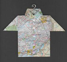Origami Map Shirt Ottawa, Gatineau, Kingston, Carleton Place, Ontario, Canada