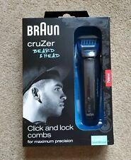 Braun Cruzer 5 Beard & Head Hair Shaver/ Trimmer - Rechargable Wet & Dry Use