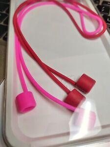 2x Apple Airpods Strap Kopfhörerband Halterung Halteband Silikon Ohrbügel Haken