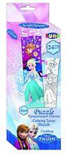 Disney - Puzzle da colorare 24 pz Frozen 13x48 Cm. 5205698178788