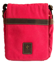 Red Cactus Small Cross Body/Messenger Bag. Size: 24 X 20 X 10cm