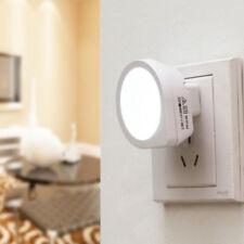 Automatic LED Night Light Plug In Energy Saving Light Dark Sensor Wall Lamp Hot