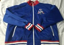 New England Patriots Mitchell & Ness retro satin track jacket men's size 4xlarge
