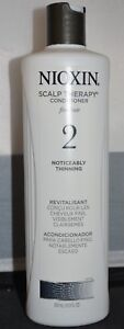 Nioxin Scalp Therapy Conditioner # 2 Fine Hair Noticeably Thinning Hair 16.9 oz