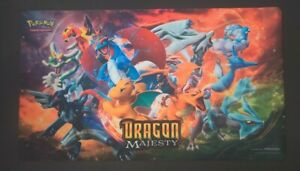 Dragon Majesty Official Pokemon TCG Playmat Premium Collection Box