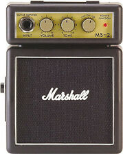 Marshall MS-2 Mini Practice Half Stack Amp, New!