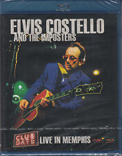 ELVIS COSTELLO & THE IMPOSTERS Club Date Live in Memphis Blu-ray Neuware sealed