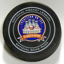 NEW YORK ISLANDERS 43 YEARS 1972-2015 OFFICIAL GAME PUCK! 9900415