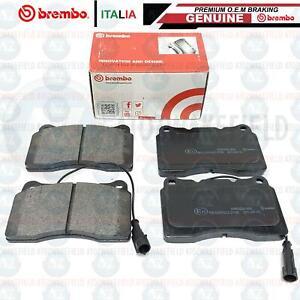 FOR MASERATI GHIBLI 2013- FRONT GENUINE BREMBO BRAKE PADS WIRE SENSOR (BREMBO)