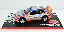 Hyundai Accent WRC Rallye Monte-Carlo 2004 # 71 Maßstab 1:43
