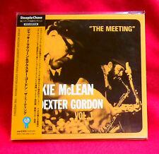 Jackie McLean Dexter Gordon The Meeting Vol.1 JAPAN MINI LP CD VACZ-1126
