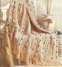 *Island Breeze Afghan crochet PATTERN INSTRUCTIONS